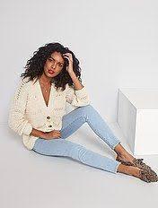 <b>Джинсы</b> женские | купить модные черные <b>джинсы</b> | Kiabi