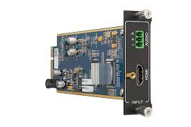 Flexible <b>One Input 4K HDMI</b> card with Audio