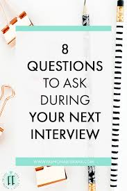 interview questions you should ask every time fashionably how did you get your start in this business