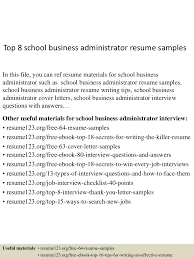 topschoolbusinessadministratorresumesamples lva app thumbnail jpg cb