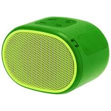 <b>Беспроводная колонка Sony SRS-01</b>, зеленая оптом под логотип