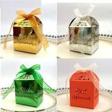 <b>10Pcs Eid Mubarak</b> Paper Candy Box <b>Bags</b> Party Favors Gifts ...