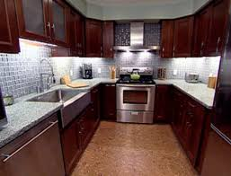 kitchen design trends recycled glass counter