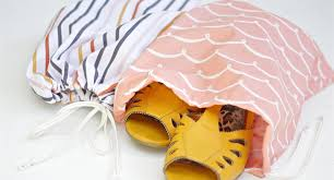 DIY 10-Minute <b>Shoe Bags</b> | WeAllSew