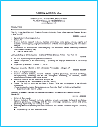 best criminal justice resume collection from professionals how share