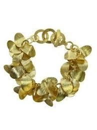 <b>Brushed</b> Leaf Bracelet #18KVermeil #Bracelet #Sikara | Leaf ...