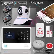 100% <b>Original G90B WiFi</b> Alarm GPRS APK App Controlled Home ...