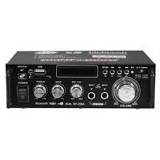 <b>BT</b>-<b>298A 12V 220V</b> HIFI Audio Stereo Power Amplifier bluetooth FM ...