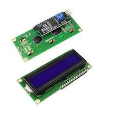<b>1602</b> (16x2) <b>LCD</b> Display with I2C/IIC interface - <b>Blue Backlight</b> buy ...