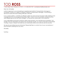 leading transportation cover letter examples resources leading transportation cover letter examples resources myperfectcoverletter