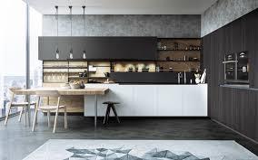 Black White Kitchen Designs Black White Wood Kitchens Ideas Inspiration