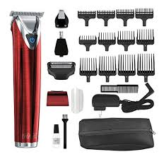 <b>Wahl Stainless Steel</b> Lithium Ion Plus - Red Beard Trimmer and ...