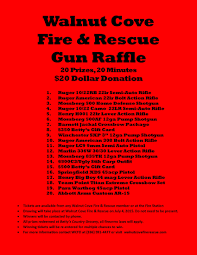 walnut cove volunteer fire rescue independence day gun gun raffle flyer 2
