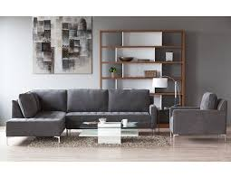 living room furniture miami: structube living room sectional sofas miami charcoal