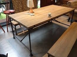 new special assembly of the new vintage american country wrought iron rivets desk table desk workbench american country wrought iron vintage desk