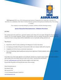 junior executive bancassurance western provinced jobs best job site in sri lanka cv lk