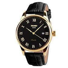 SKMEI Business Men's Quartz Wristwatches Leather ... - Amazon.com