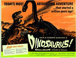 Image result for images of 1960 movie dinosaurus