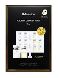 <b>Плацентарная тканевая маска</b> с коллагеном JMsolution Placen ...