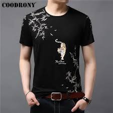 <b>COODRONY T Shirt</b> Men Soft <b>Cotton</b> Linen Short Sleeve <b>T Shirt</b> Men ...