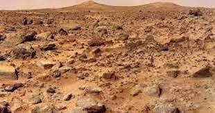 Marte ,un planeta inhóspito