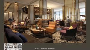 room rendering lobby bar lobby amp lobby bar rendering sheraton universal hotel