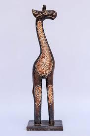 "<b>Статуэтка жираф</b> ""Дану"" с декором рокко,деревянная высота ..."