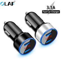<b>Автомобильное зарядное устройство</b> с двумя USB-портами, 3,1 ...