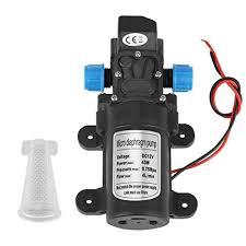 """<b>DC 12V 45W</b> 1/2"""" NPT Mini Diaphragm Water Self Priming Pump ..."""