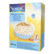 <b>Хлопья Nordic</b> (Нордик) <b>овсяные</b> органические, <b>500</b> гр. — купить в ...