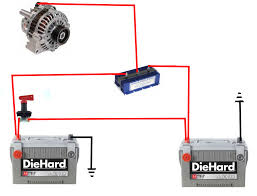 marine dual battery isolator wiring diagram images diagram boat twin battery wiring diagram