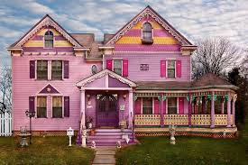 victorian bright colors and house on pinterest bright colorful home