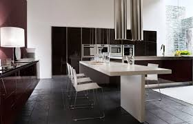 Black And White Kitchen Table Black Modern Dining Table Dining Room