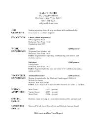 principal resume samples resume templates babysitter resume sample