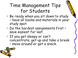 Strategies for Helping Your Child with Organization  Study Skills     SlidePlayer Time Management Tips for Students Study using techniques that match your learning style