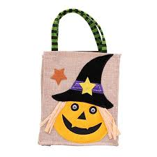 fashionhome <b>Halloween</b> Linen Cloth <b>Pumpkin Witch Pattern</b> Gifts ...