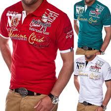 Hot Deal #55ef - <b>ZOGAA Short Sleeve</b> Casual T Shirts Turn-down ...