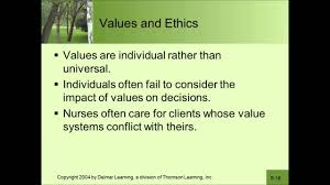 ethics and values ethics and values