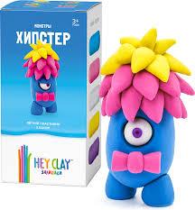 Воздушный пластилин для лепки <b>HEY CLAY</b> Залипаки - Хипстер ...