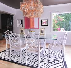 chair dining tables room contemporary: lucite dining table dining room eclectic with abstract art beach house