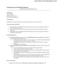 construction resume example construction resume example and sample construction resume