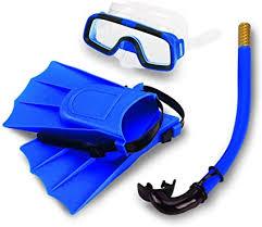 SYPRAM® Snorkel Set, <b>Anti</b>-<b>Fog Swimming</b> Goggles Mask Flippers ...