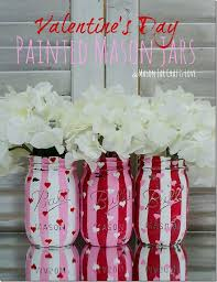 jar crafts home easy diy: valentine heart jars mason jar crafts love