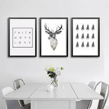 Buy <b>Minimalist</b> Deer Canvas & <b>Wall Art</b> Online | <b>Canvas Art</b> Boutique