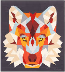 The Wolf Abstractions Quilt Pattern в 2020 г