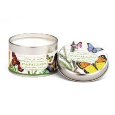 <b>Michel Design Works Papillon</b> Travel Candle Tin
