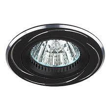 <b>Встраиваемый светильник ЭРА KL34</b> AL/BK MR16,12V, 50W ...