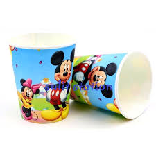 <b>10pcs MICKEY</b> MINNIE MOUSE PARTY PAPER <b>CUP</b> | Shopee ...