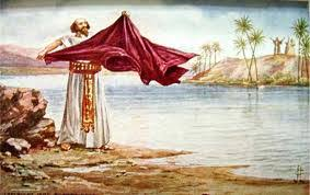 Image result for Elijah smote the waters