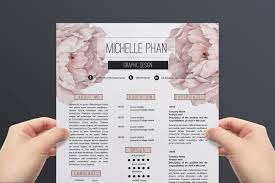 floral cv template resume template by chic templates floral cv template resume template by chic templates com